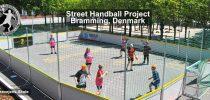 Denmark, Street Handball Project, Bramming, Bakkevejens Skole