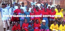 South Africa, Soweto, Street Handball Roadshow