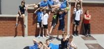 Slovenia: Hrpelje – Street Handball 1 Goal  with children from Club RD Jadran