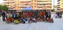 Spain 130 children to Street Handball with Club Handbol Vilanova i la Geltrú