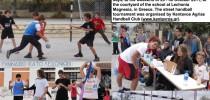 Greece, Street Handball Tournament by Kentavos Agrias Handball Club