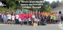 1° Torneio Street Handball – Queima das Fitas 2015 em Coimbra, Portugal