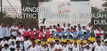 Street Handball 2015, UAE, Sharjah District Festival 4, Dubai, United Arab Emirates.