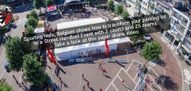 Get the best inspiration how to transform your parking lot to a Street Handball Event from Sporting Nelo, Belgium. Take a look at this super event / drone video.