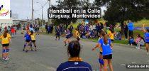 Handball en la Calle, Uruguay, Montevideo, Rambla del Kibon, Street Handball