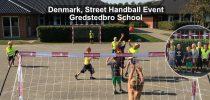 Denmark, Street Handball Event, Gredstedbro School