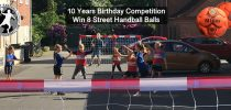 COMPETITION, Win 8 Street Handball balls for your handball club/team