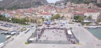 1st Street Handball Tournament Nafplio City, Greece with an awesome drone video