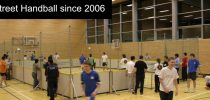 """Street Handball was founded 2006 to a """"Street Sport for Europe"""" seminar, Germany"""