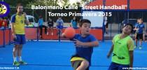 "Balonmano Calle ""Street Handball"" Torneo Primavera 2015 with Deportivo Retamar C.B."