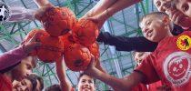 Congratulation to the winner, Street Handball Event Byron and Athinaikos Handball Club, Greece of 8 street handball balls