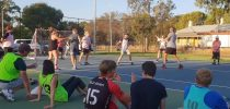 Australia's First Street Handball Competition from Adelaide and for first time we can show you street handball played on a tennis court