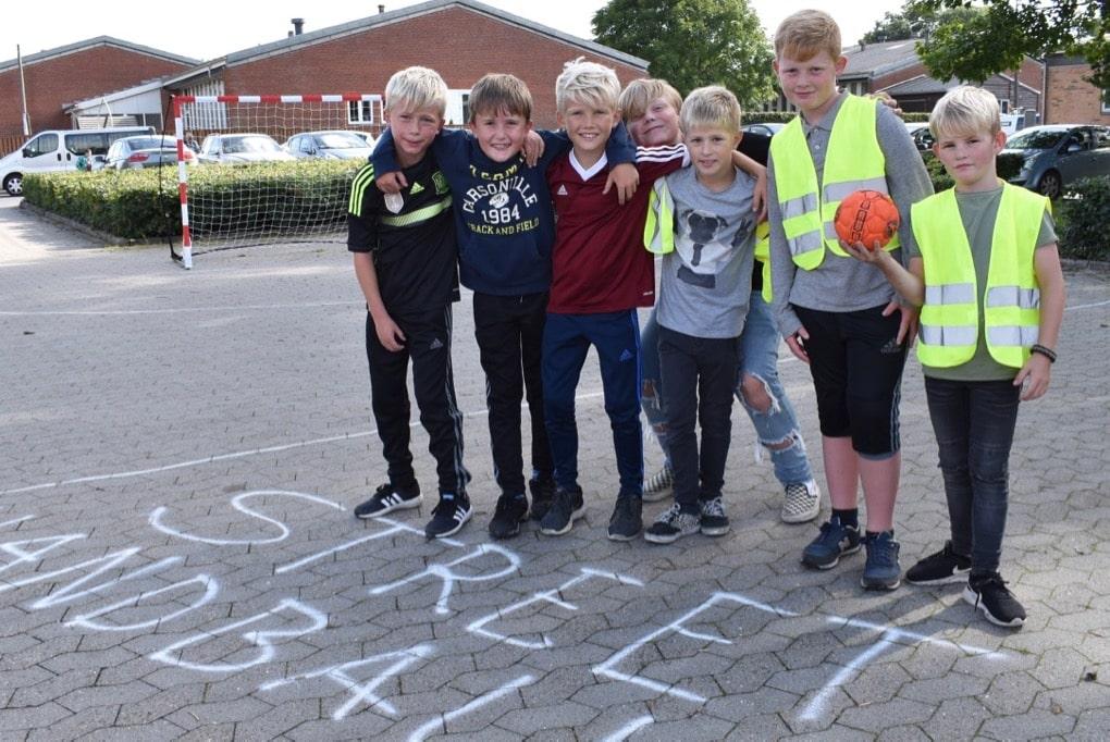 Street Handball to Children's Day, Bramming Town Fair, Denmark