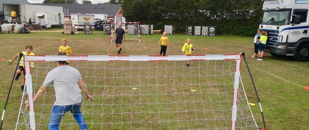 Street Handball Denmark to Children's Day, Bramming Town Fair