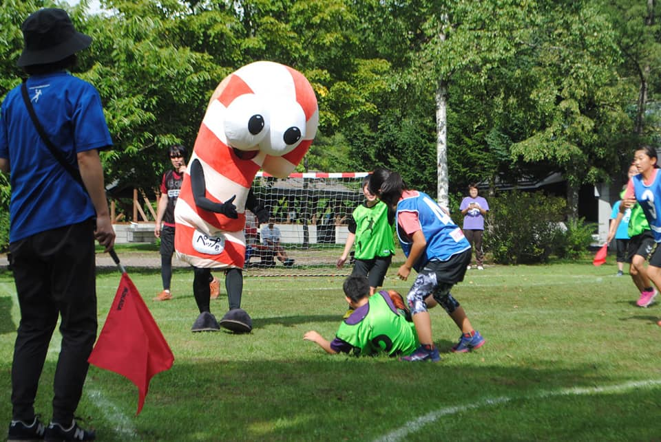 3rd Street Handball Hokkaido Exchange Tournament in Napal Mori,  Onuma Park, Japan