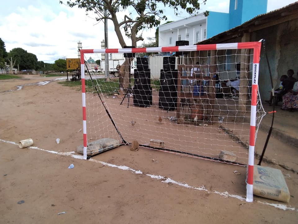 Quick play goals - Street Handball Gambia affiliated to Street Handball International was on Saturday 31st August 2019 launched in The Gambia at a grand ceremony held in Batokunku village Kombo South District, West Coast Region.