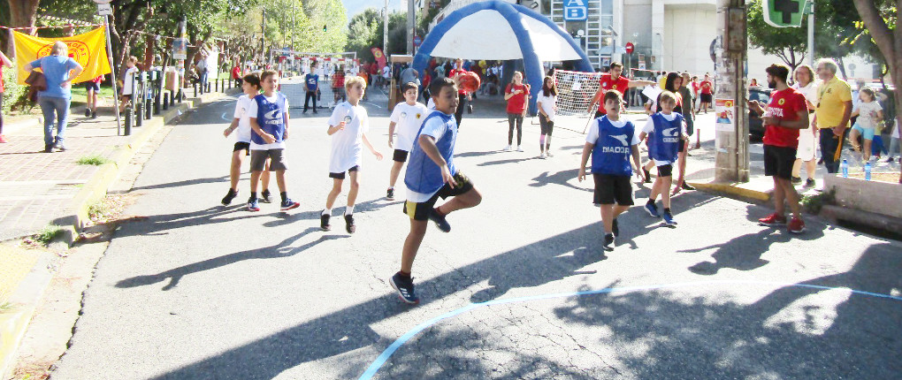 2nd Street Handball in Byron, Athens, Athinaikos Handball Club
