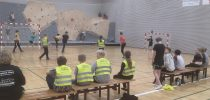 Fun Friday Event with Street Handball in Bramming, Denmark