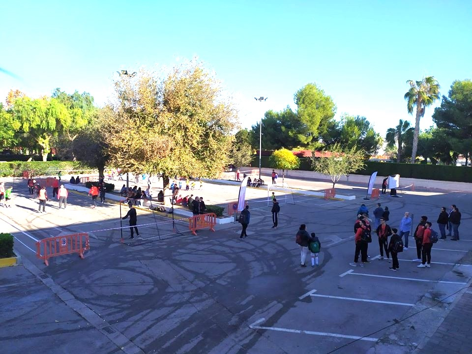 Spain, Valencia, Balonmano Calle Mislata, Street Handball