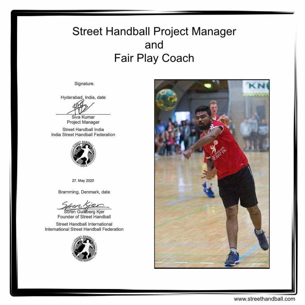 Street Handball India