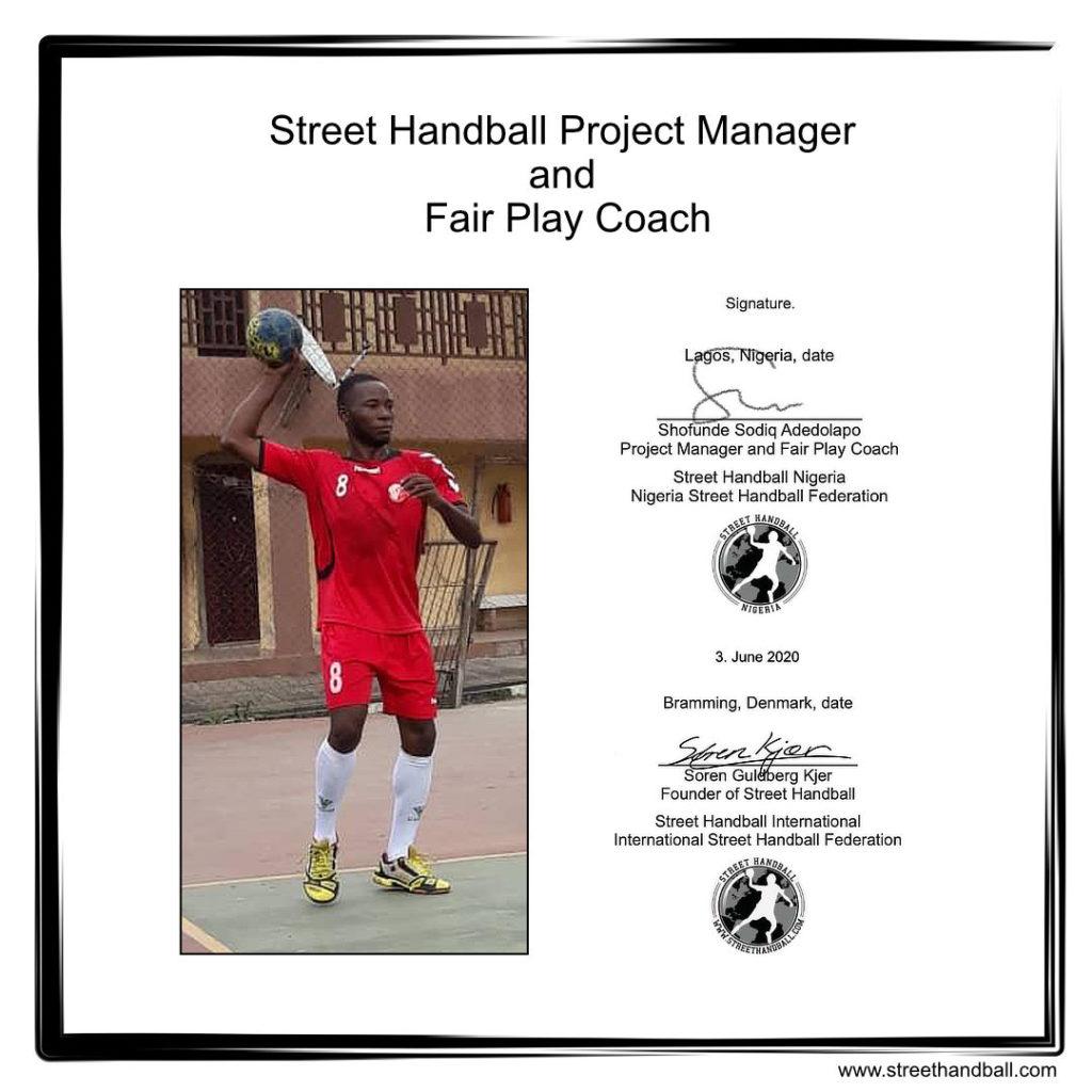 Street Handball Nigeria