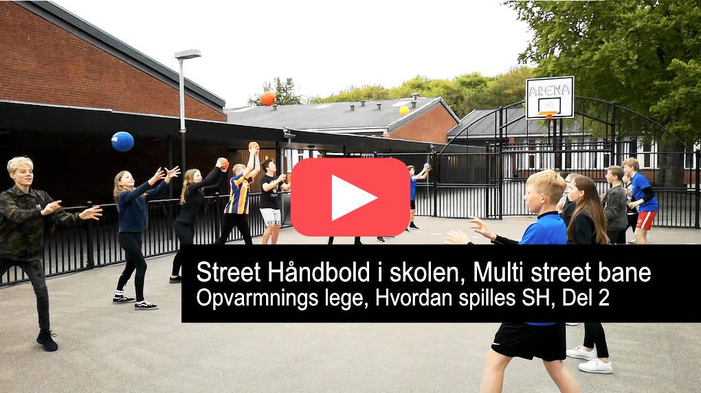 Street Håndbold i skolen, multi bane.