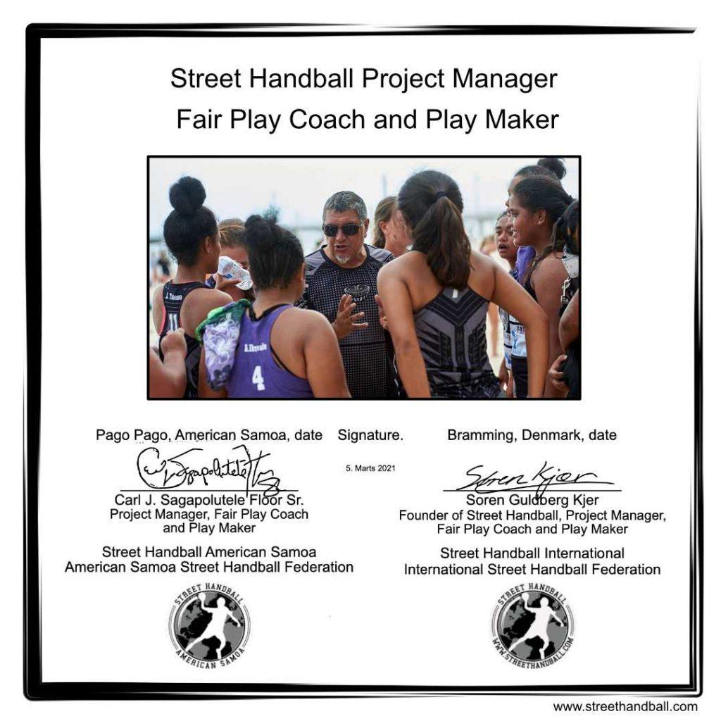 Street Handball American Samoa