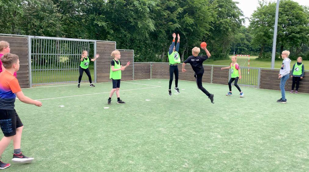 Street Håndbold i skolen, Gredstedbro, Multi bane